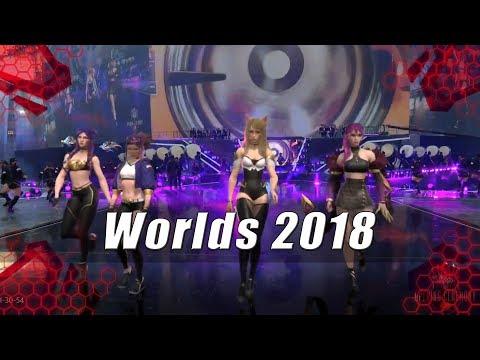 Worlds 2018 - Ceremonia de Apertura |League of Legends|