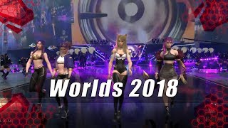 Worlds 2018 - Ceremonia de Apertura KD/A |League of Legends|