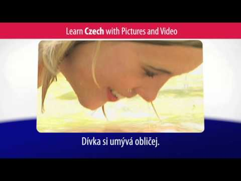 Learn Czech Vocabulary with Pictures and Video - Talking About Your Daily Routine in Czech