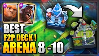 LET'S PLAY BEATDOWN!!! Advanced Giant/Hog Tips Deck W/ WINGS In Clash Royale