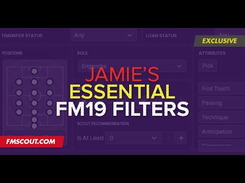 Football Manager 2019 Players & Staff Filters | The best FM19 Players &  Staff filters