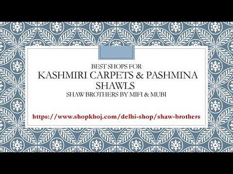 Kashmiri Carpets & Pashmina Shawls