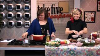 WZZM - Take Five - Creamy Potato Gouda & Rosemary Soup - Jan 2014