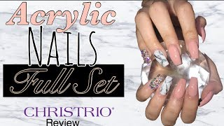 Acrylic Nails Full Set | Christrio Acrylic System Review