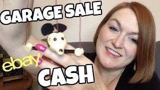 Flipping Garage Sale Finds on Ebay for Profits - Vintage