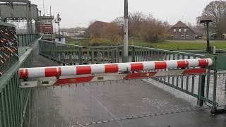 Rollklappbrücke Oldenburg, an der Hunte [2] // Rolling bascule Bridge // Wipbrug