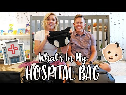 What's In My HOSPITAL BAG?! 🏥🤰🏼