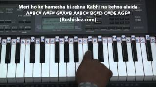 Janam Janam - Piano Tutorials - Dilwale Movie | DOWNLOAD NOTES FROM DESCRIPTION