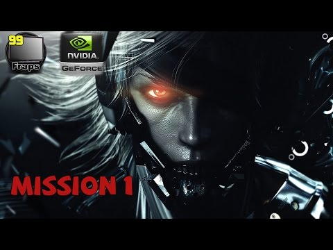 Metal Gear Rising: Revengeance Gameplay Walkthrough Part 1 - Mission 1