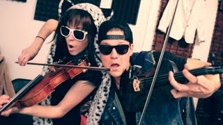 Thrift Shop - Lindsey Stirling & Tyler Ward (Macklemore & Ryan Lewis Cover) thumbnail