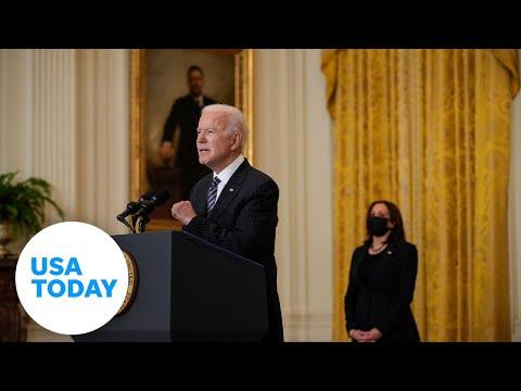 U.S. President Joe Biden delivers remarks at the Emory University in Atlanta, GA (LIVE) | USA TODAY