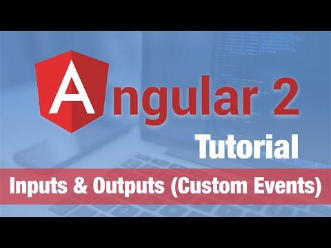 Angular 2 Tutorial (2016) - Inputs & Outputs