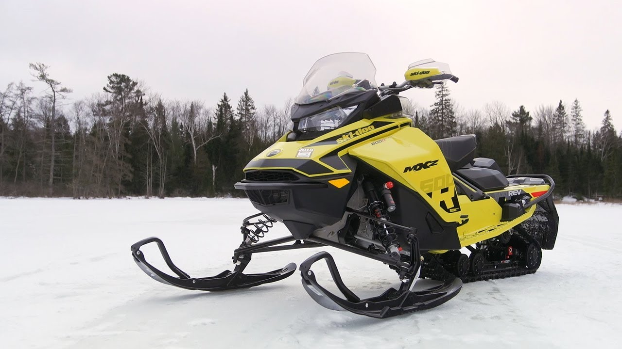 SUPERTRAXMAG COM - Full REVIEW: 2018 Ski-Doo MXZ 600R