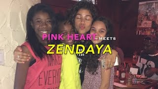 Pink Heart Meets ZENDAYA | LA Chronicles