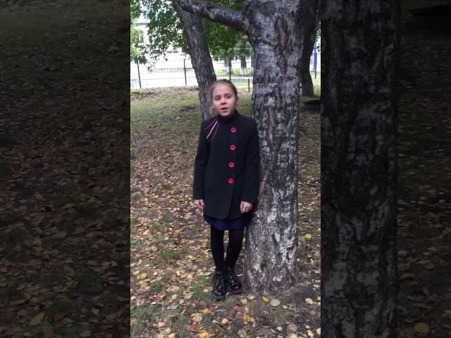 Алена Романчук читает произведение «Осыпаются астры в садах....» (Бунин Иван Алексеевич)