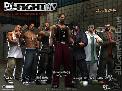 Def Jam Fight For NY Crows Crew YouTube