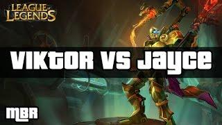 Full Machine Viktor Vs Jayce - Mid Lane - League Of Legends - HD