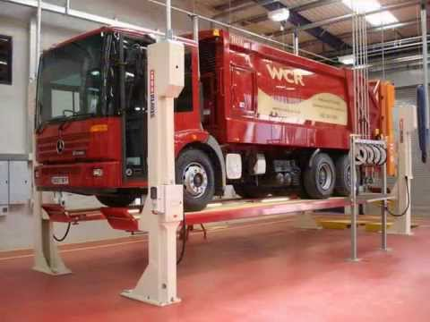 Commercial Vehicle Lifts By CCS Garage Equipment