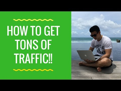 How To Get Traffic To Your Website (Full Visual Breakdown)