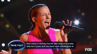 I Can See Your Voice S1 Premiere - Charity Farrell/Rock Climber