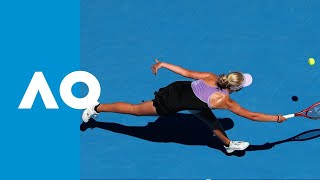 Clara Tauson v Leylah Annie Fernandez match highlights (F) | Australian Open 2019