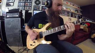 Six Feet Under In the Process of Decomposing guitar play through