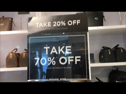 Michael Kors Outlet Sale 70% Off & 20% Off *Exclusions Apply
