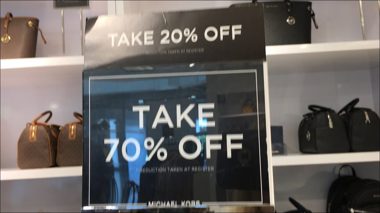 Michael Kors Outlet Sale 70% Off & 20% Off *Exclusions Apply*
