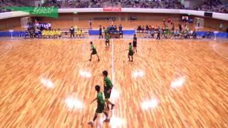 H26年 第23回JOCハンドボール大会岐阜VS宮崎(ダイジェスト)(男子予選リーグ)