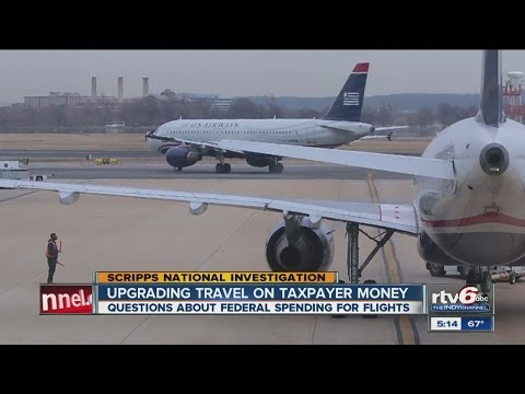 Federal employees flying high on taxpayers