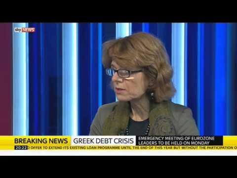 Vicky Pryce On Greek Debt Crisis
