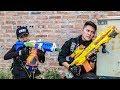 Nerf Guns War : S.W.A.T Men Of TTNerf Team Special Attack Ninja Super Boss XX Criminal Dangerous