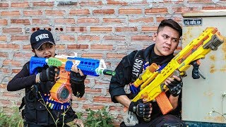 Nerf Guns War : S.W.A.T Men Of TTNerf Team Special Attack Ninja Super Boss XX Criminal Dangerous
