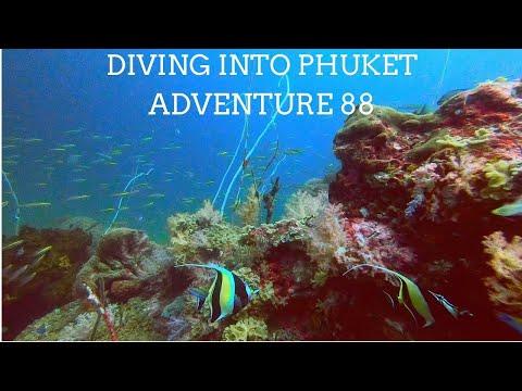 Diving into Phuket, Adventure 88