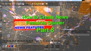 Maxon Cinema 4D كيفية إنشاء الأخبار الميزات 8