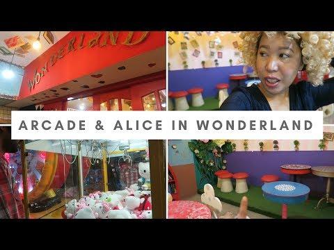 Arcade & Alice in Wonderland