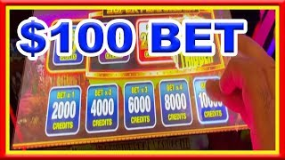 ** $100 BET ** BUY A BONUS ** NEW BISON SLOT ** SLOT LOVER **