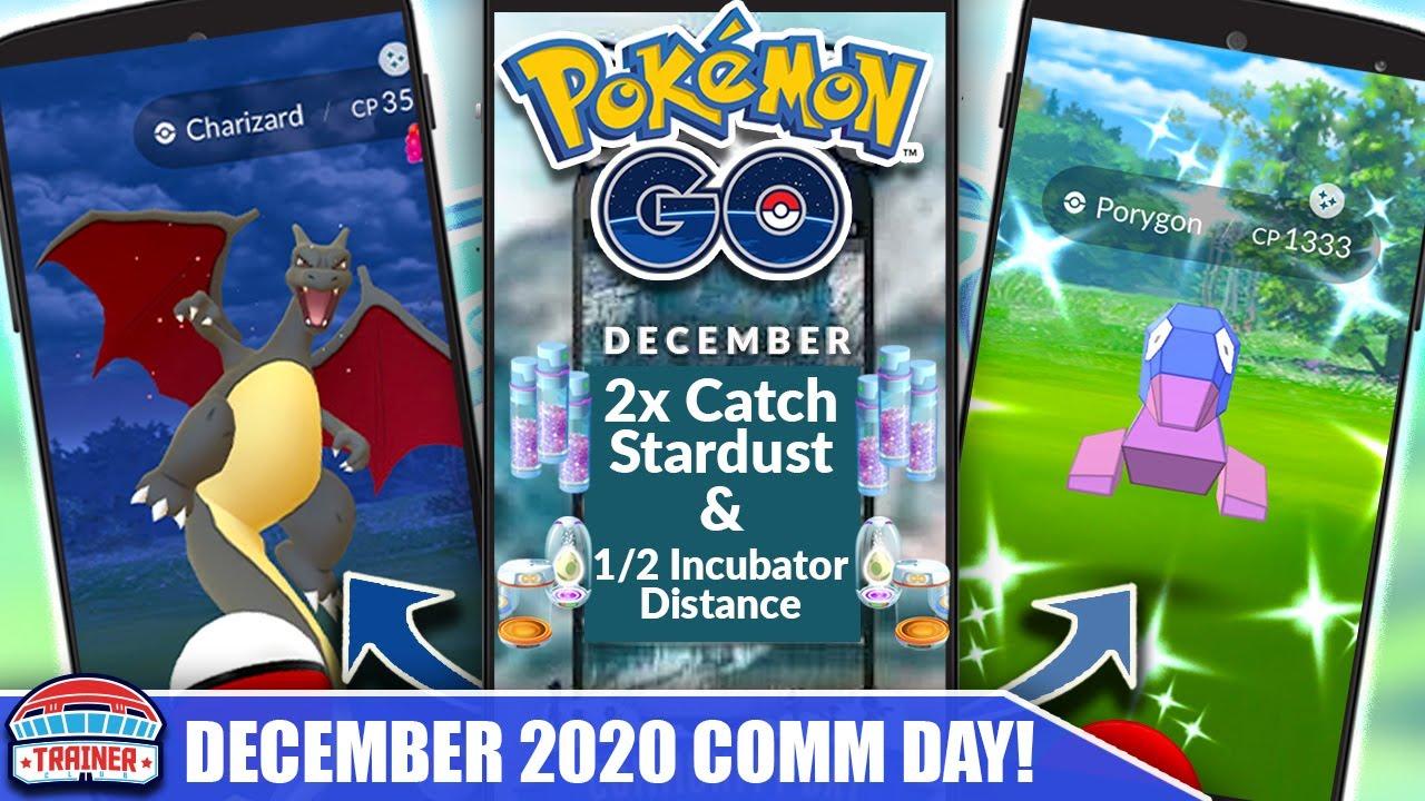 Download FULL DETAILS! *DECEMBER COMMUNITY DAY* IS A MUST! BONUSES, SPAWNS, TIMES & DETAILS! | Pokémon GO