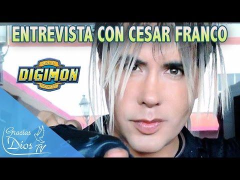 """La voz de nuestra infancia Cesar Franco del tema """"Digimon"""" habla de Dios y Venezuela"""