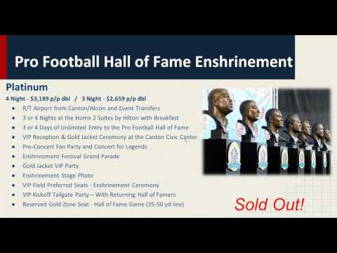 2016 03 08 19 00 Pro Football Hall of Fame Enshrinement Weekend