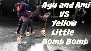 Best 4. Bgirl Ayu and Ami vs. Yellow Little Bomb Bomb. China vs. Japan. BOTY 2016 Qualifier