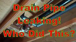Leaking Pipe Repair HOW TO SAVE $$ DYI