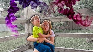 Кто УКРАЛ ПОДАРКИ Светы и Богдана? Что творится в нашем ДОМЕ? Для Детей kids children
