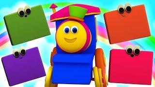 Vídeos e músicas infantis | Bob The Train Vídeos de desenhos animados | Vídeos para crianças
