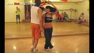 Уроки Salsa. Видео с занятий Salsa Dance Studio S-Tres
