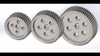 Solidworks.Конфигурации и уравнения для зубчатого колеса