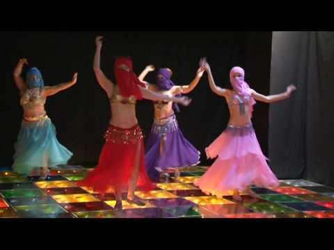 Jasmin bellydance - Dance in yashmak