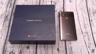 Huawei Mate 10 Pro Unboxing And First Impressions