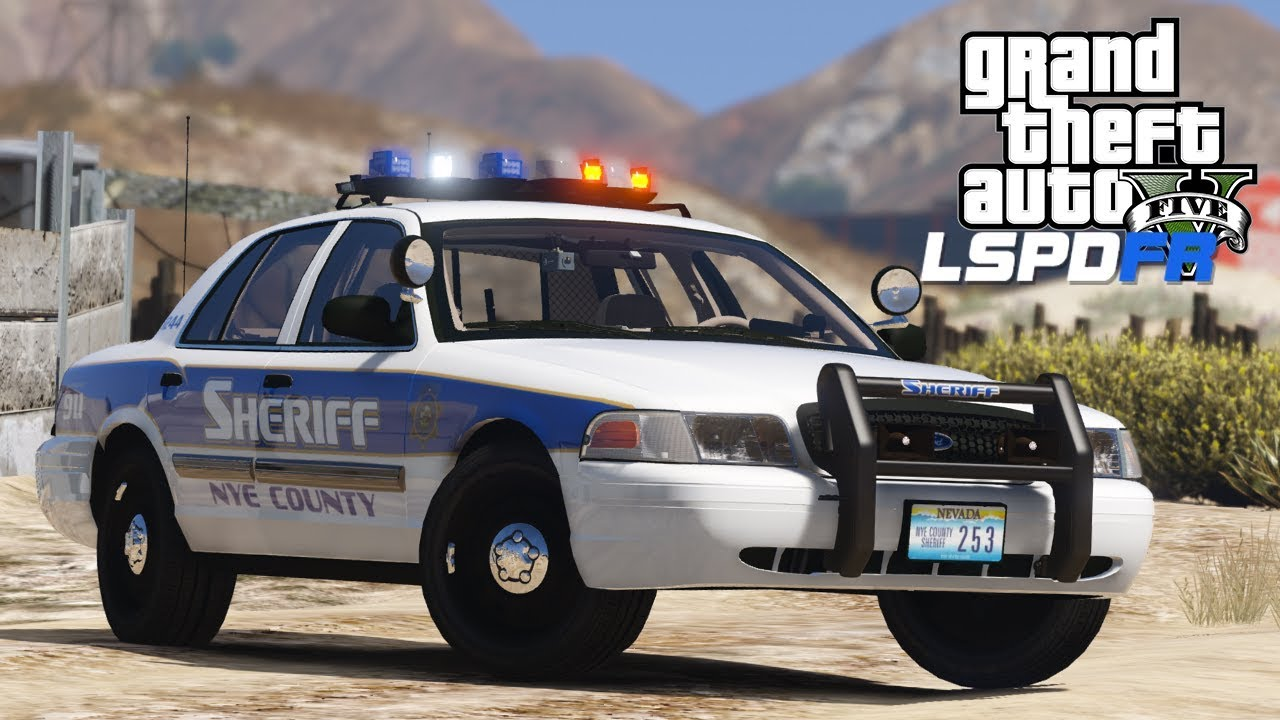 GTA 5 - LSPDFR - Ep 171 - Nye County Sheriffs Office!