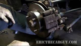How To Replace Rear Disc Brakes (Full) - EricTheCarGuy thumbnail